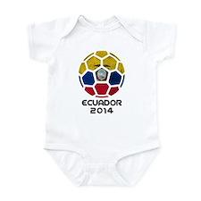 Ecuador World Cup 2014 Infant Bodysuit