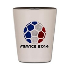France World Cup 2014 Shot Glass