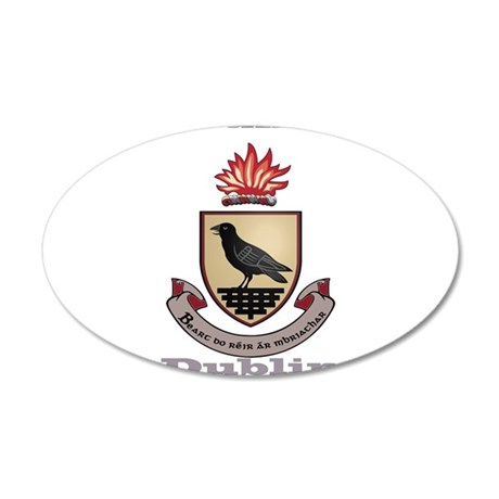 County Dublin Coat of Arms Wall Decal