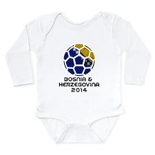 Bosnia-Herzegovina Wor Long Sleeve Infant Bodysuit