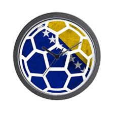 Bosnia-Herzegovina World Cup 2014 Wall Clock