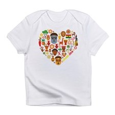 Ghana World Cup 2014 Heart Infant T-Shirt