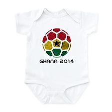 Ghana World Cup 2014 Infant Bodysuit