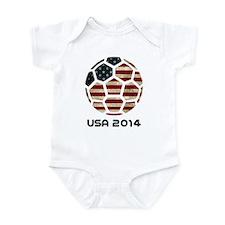 USA World Cup 2014 Infant Bodysuit