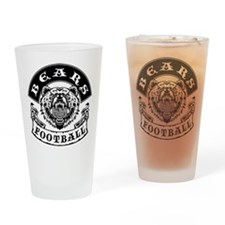 Bears Football Drinking Glass