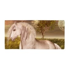 White Horse Beach Towel