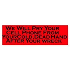 Hang Up Bumper Bumper Sticker