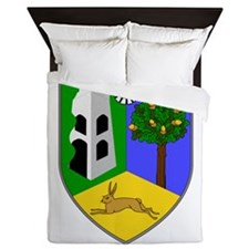 County Sligo COA Queen Duvet