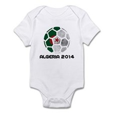 Algeria World Cup 2014 Infant Bodysuit