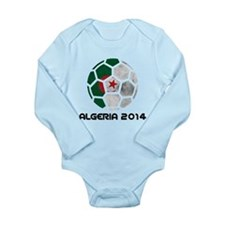 Algeria World Cup 2014 Long Sleeve Infant Bodysuit