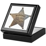 Border Patrol 1896 Keepsake Box