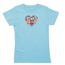 Russia World Cup 2014 Heart Girl's Tee