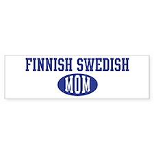 Finnish Swedish mom Bumper Bumper Sticker