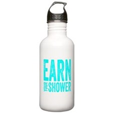 Earn Your Shower Water Bottle