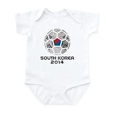 South Korea World Cup 2014 Infant Bodysuit