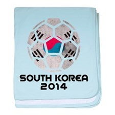 South Korea World Cup 2014 baby blanket