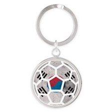 South Korea World Cup 2014 Round Keychain