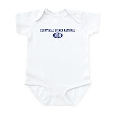 Equatorial Guinea national mo Infant Bodysuit