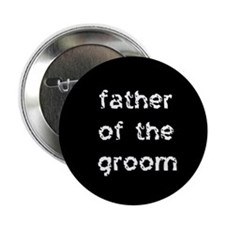 Father of the Groom Black Button