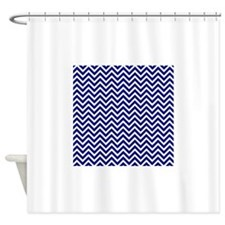 chevron royal blue shower curtains chevron royal blue