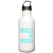 Muscles and Mascara Water Bottle