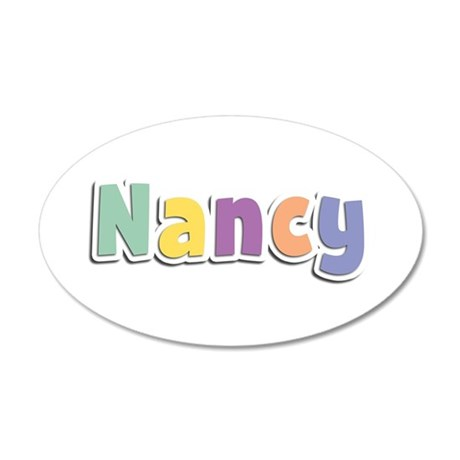 Nancy Spring14 35x21 Oval Wall Decal