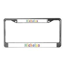 Nicholas Spring14 License Plate Frame