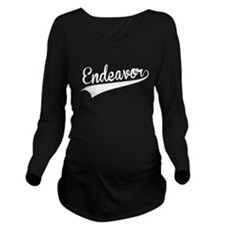 Endeavor, Retro, Long Sleeve Maternity T-Shirt