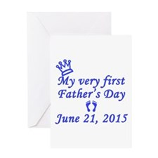 First Father's Day 2014 Card