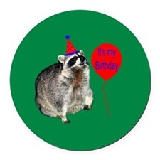 Its My Birthday Round Car Magnet
