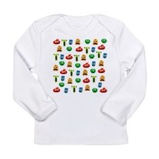 Cute Monsters Long Sleeve T-Shirt
