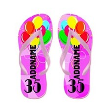 Stylish 35th Flip Flops