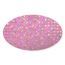 Polkadots Jewels 2 Sticker (oval)