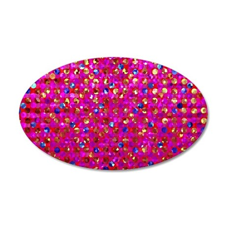 Polkadots Jewels 2 35x21 Oval Wall Decal