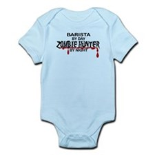Barista Zombie Hunter by Night Infant Bodysuit