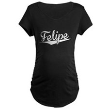 Felipe, Retro, Maternity T-Shirt