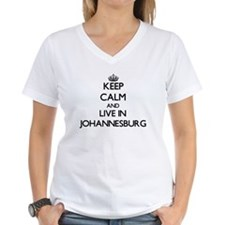 Keep Calm and live in Johannesburg T-Shirt