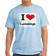 I love lemmings T-Shirt