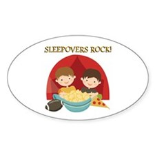 Sleepovers Rock Decal