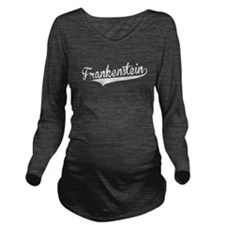 Frankenstein, Retro, Long Sleeve Maternity T-Shirt