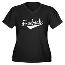 Fredrick, Retro, Plus Size T-Shirt