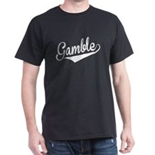 Gamble, Retro, T-Shirt