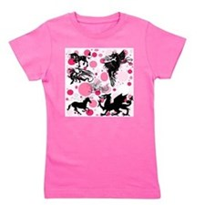 Fantasy in Pink Girl's Tee