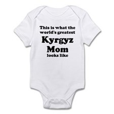 Kyrgyz mom Infant Bodysuit