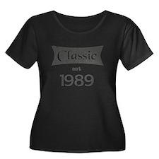 Classic est 1989 Plus Size T-Shirt