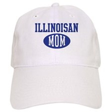 Illinoisan mom Baseball Cap