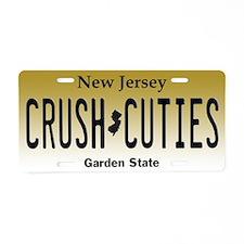 Cool Crush Aluminum License Plate