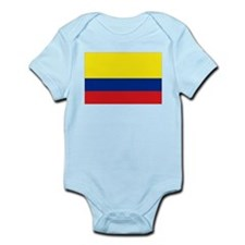 Colombian flag Infant Bodysuit