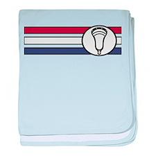 Lacrosse United 04 baby blanket