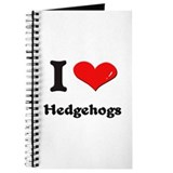 I love hedgehogs Journal